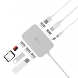 Адаптер Dodocool DC30 7-в-1, HDMI, 3xUSB 3.0, microSD, SD, арт. 709