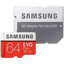 Карта памяти Samsung microSDXC EVO Plus 64GB арт. 648
