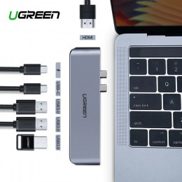 USB-хаб для Macbook Pro CM206, HDMI, 3xUSB арт. 739