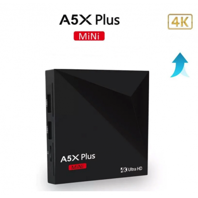 Android 9.0 смарт ТВ приставка A5X plus mini 2/16Гб