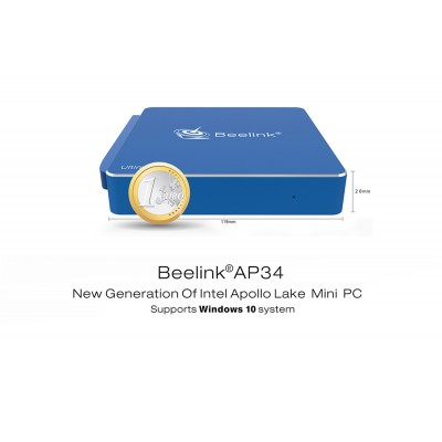 Миникомпьютер Beelink AP34 Ultimate Windows 10 на Intel Apollo Lake N3450 8 Гб ОЗУ