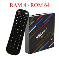 Android 8.1 смарт ТВ приставка H96 MAX+ Rockchip RK3328 4/64Гб арт. 736