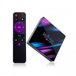 Android смарт ТВ приставка H96 MAX 4/32Гб Rockchip RK3318, арт. 1154