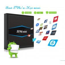 ТВ приставка H96 mini Amlogic S905W 2/16Гб, bluetooth, арт. 607