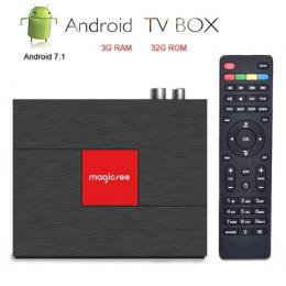 ТВ-приставка Magicsee C400 Plus DVB-S2/T2/C 3/32Гб, арт. 760