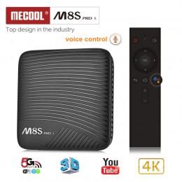 Смарт ТВ-приставка с голосовым управлением MECOOL M8S PRO L 3/16Гб, арт. 621