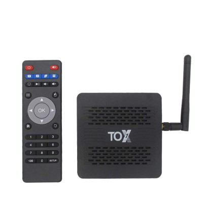 Смарт ТВ-приставка TOX1 Amlogic S905x3 4/32Гб