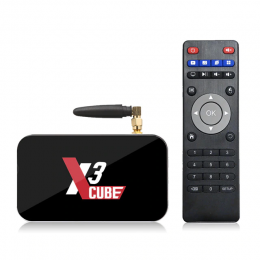 ТВ-приставка Ugoos X3 Cube Amlogic S905X3 2/16Гб, арт. 969