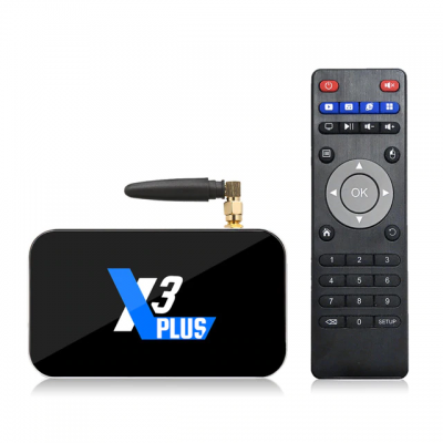 ТВ-приставка Ugoos X3 Plus Amlogic S905X3 4/64Гб