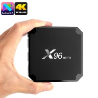 Android 7.1.2 смарт ТВ box X96 MINI Amlogic S905W 2/16Гб, арт. 472