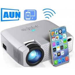 LED проектор AUN D40W WiFi Miracast / Airplay, арт. 967