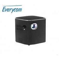 Портативный WiFi DLP проектор Everycom D019 Android 7.1 2/16Гб, черный, арт. 926