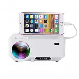 LED ТВ проектор Everycom X5A белый (арт.440)