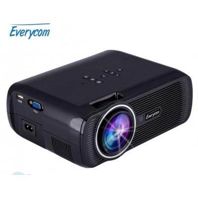 LED ТВ проектор Everycom X7S черный
