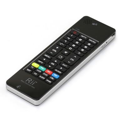 Клавиатура + Air mouse + ИК пульт + микрофон и динамик Rii mini i13