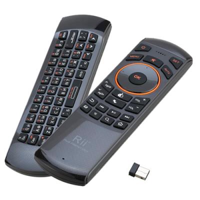 Клавиатура + Air mouse + ТВ пульт Rii i25