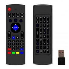 Клавиатура + Air mouse + ТВ пульт с микрофоном MX3
