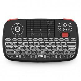 Беспроводная мини-клавиатура с подсветкой Rii i4 Bluetooth/2,4ГГц арт. 1134