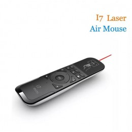 Воздушная мышь Rii I7 с лазерной указкой, арт. 665