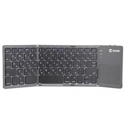Складная беспроводная клавиатура Vontar bluetooth BT-033