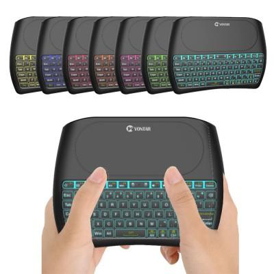 Беспроводная клавиатура с тачпадом Vontar D8