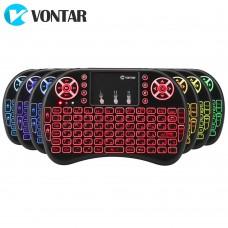 Беспроводная клавиатура Vontar i8 с подсветкой арт. 805