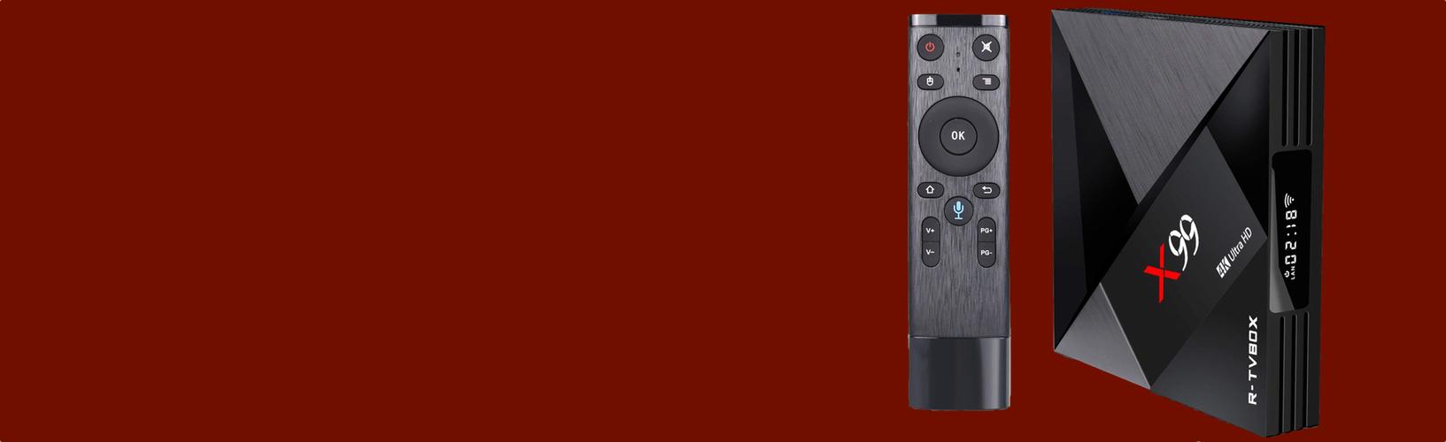 Cмарт ТВ приставка X99 - Rockchip RK3399 4/32Гб